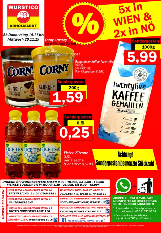 Wurstico Aktionen – November 2019 2 – 4